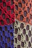 Mosaik för rät maskablommamodell Arkivfoto