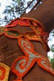 Mosaik för rät maskablommamodell Fotografering för Bildbyråer