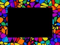 Mosaik-Feld Lizenzfreie Stockfotografie
