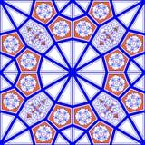 Mosaik-Fliesen-Muster Lizenzfreie Stockfotos