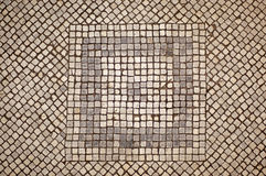 Mosaik-Fußboden Lizenzfreie Stockfotos