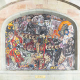 Mosaik in Genf Lizenzfreies Stockbild