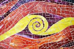 Mosaik-Hintergrund Lizenzfreie Stockfotos