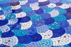 Mosaik-Hintergrund-Muster Stockbild