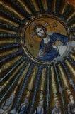 Mosaik i den Chora kyrkan royaltyfri fotografi