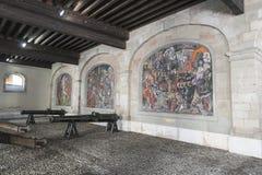 Mosaik i geneva Arkivfoto