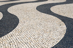 Mosaik im Fußweg Lizenzfreie Stockfotografie