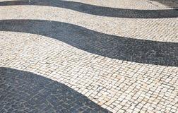 Mosaik im Fußweg Stockfotografie