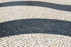 Mosaik im Fußweg Lizenzfreies Stockfoto