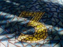 Mosaik inga 3 royaltyfria foton