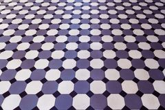 Mosaik, Keramikfliesen mit klassischem Muster stockfotos