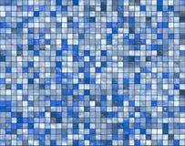 Mosaik - keramischer Wandhintergrund Stockbilder