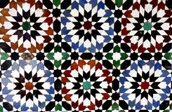 Mosaik in Marokko Lizenzfreie Stockfotografie