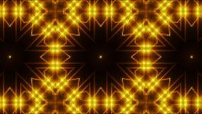 Mosaik mit glänzenden Lichtern des Fractal, Computer der Wiedergabe 3d, der Hintergrund erzeugt lizenzfreie abbildung