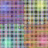 Mosaik mit grellem Glanz Stockfotos