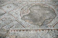 Mosaik på golvet Arkivfoto