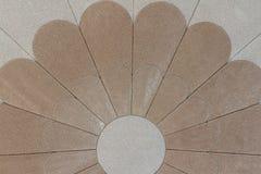 Mosaik på taket Royaltyfria Bilder