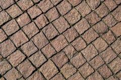Mosaik-Pflasterungsbeschaffenheit Lizenzfreie Stockfotos