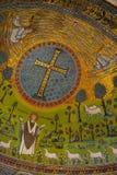 Mosaik Sant'Apollinare Stockbilder