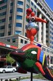Mosaik-Skulptur Stockbilder