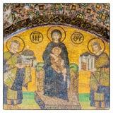 Hagia Sofia mosaik 03 Arkivbilder