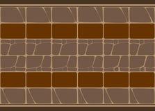 Mosaik-Vektorweg der Pflasterung abstrakter Lizenzfreie Stockfotografie