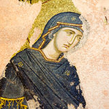 Mosaik von Jungfrau Maria Stockbild
