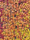 Mosaikabstrakt begrepptextur arkivbilder
