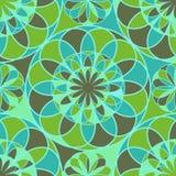 Mosaikblumen Stockfoto