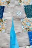 Mosaiken Antonio Gaudi lizenzfreie stockbilder