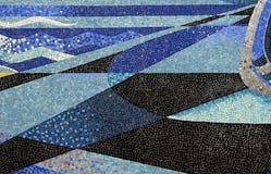 Mosaiken belägger med tegel Royaltyfri Fotografi