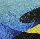 Mosaiken belägger med tegel Arkivfoto