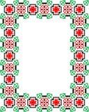 Mosaiken inramar Royaltyfri Fotografi