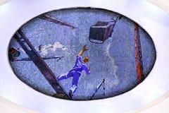 Mosaiken på tunnelbanan Royaltyfri Fotografi