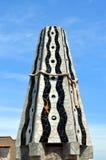 Mosaiken von Antonio Gaudi Palau Guell Lizenzfreie Stockfotos