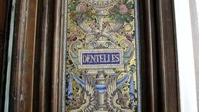 Mosaiker för Le Bon Marche arkivfilmer