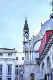 Mosaiker St Mark & x27; s-kyrka Venedig Italien Arkivfoton