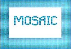 Mosaikfeld (Landschaft) Lizenzfreie Stockfotografie