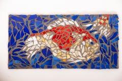 Mosaikfische lizenzfreie stockbilder