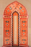 Mosaikfliesen der nahöstlichen Architektur Stockfoto