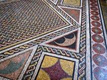 Mosaikfußböden in der Vatikanstadt Lizenzfreie Stockfotos