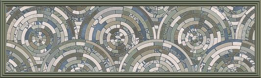 Mosaikfußboden vektor abbildung