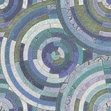 Mosaikfußboden stock abbildung