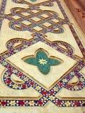 Mosaikfußboden lizenzfreies stockbild