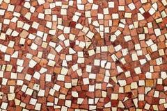 Mosaikfußbodenhintergrund umfasste Durchgang Galerie Vivienne Paris France lizenzfreie stockfotografie