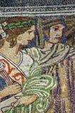 Mosaikgestaltungsarbeit Stockbild
