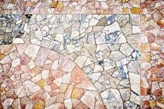 mosaikgolv Royaltyfri Bild