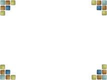 Mosaikhintergrund Stock Abbildung