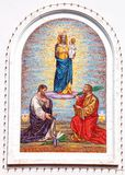 mosaikklosterbroder Arkivfoto