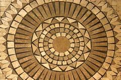 Mosaikkreis Stockfoto